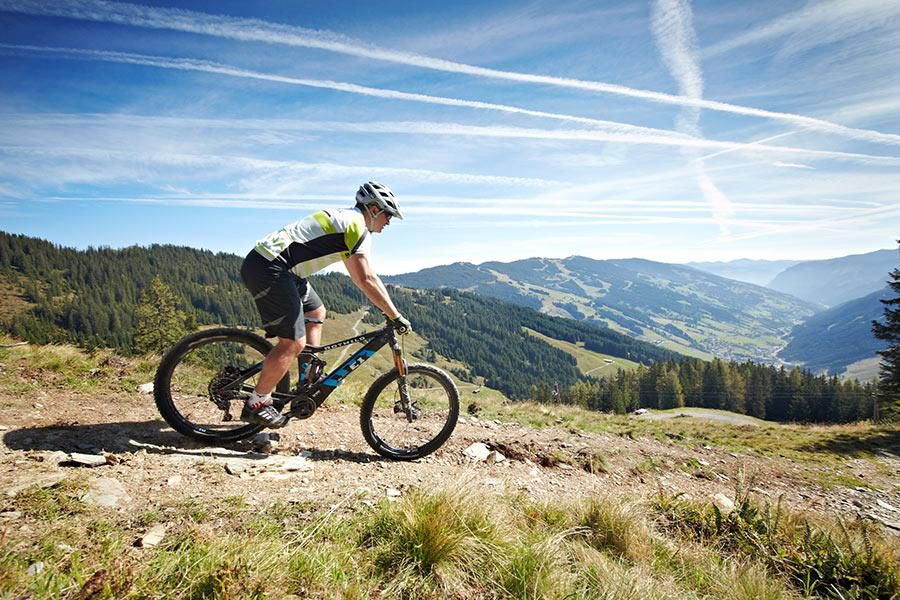 Bikeparadies in Saalbach